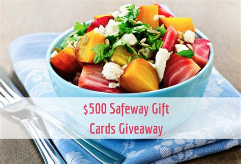 Safeway Gift Card Deals - may giveaway enter to win 500 in safeway gift cards super safeway