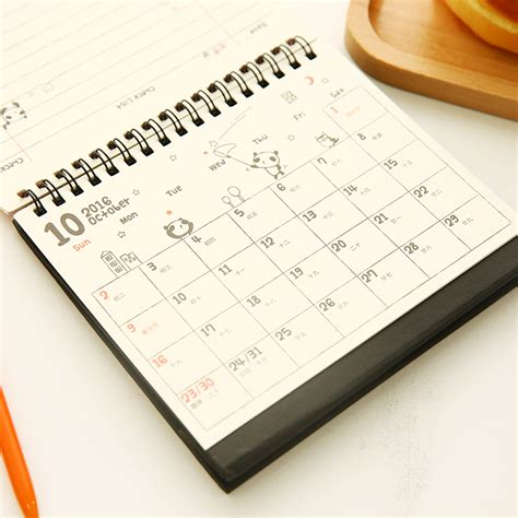 Cute Calendar 2016 Calendar Template 2016 Small Desk Calendar