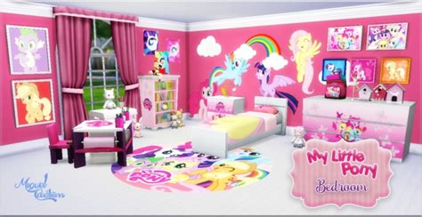 my little pony bedroom accessories my little pony bedroom at victor miguel 187 sims 4 updates