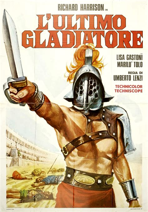 gladiator film encyclopedia the last gladiator 1964 glorious movie posters