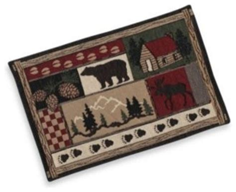 Cabin Placemats by Log Cabin Placemat Placemats By Bed