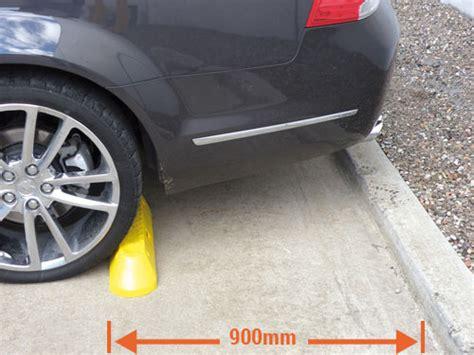 garage wheel stops