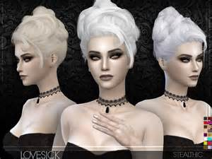 sims 4 hair lovesick female hair by stealthic at tsr 187 sims 4 updates