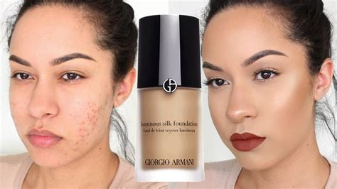 Harga Giorgio Armani Maestro Foundation giorgio armani luminous silk foundation review demo