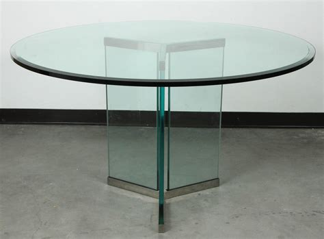 Triangular Dining Table Triangular Base Dining Table By Pace For Sale At 1stdibs