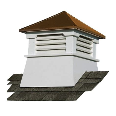Suncast Claremont Vinyl Cupola With Copper Roof