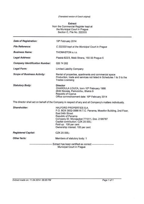 Shareholder Agreement Template czech republic offshore zones offshore and