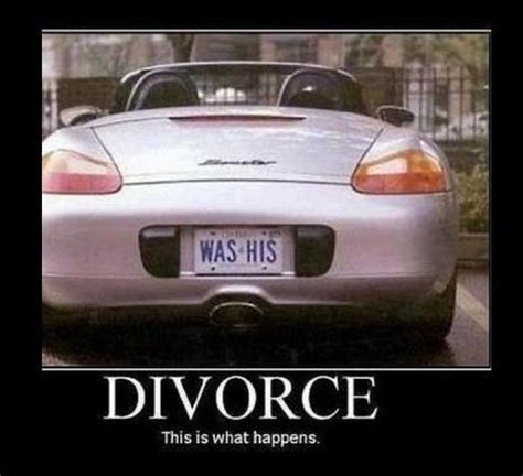 Funny Divorce Memes - divorce car meme