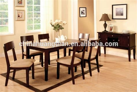 cheap dining table set in solid wood frame hdts118 buy