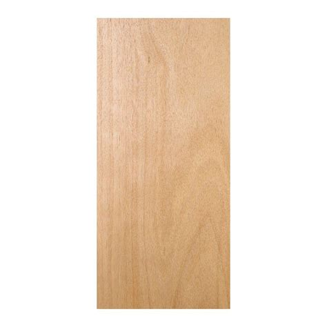 home depot wood doors interior 32 in x 78 in unfinished flush hardwood interior door slab thdjw160700459 the home depot