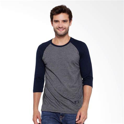 Kaos T Shirt Cotton Combad Pria Abu Everflow Gg 5 jual mpnic raglan lengan 3 4 jan kaos pria abu tua hitam harga kualitas terjamin