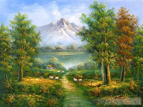 Landscape Oil Paintings Gt Landscape Paintings Paintings Of Landscapes
