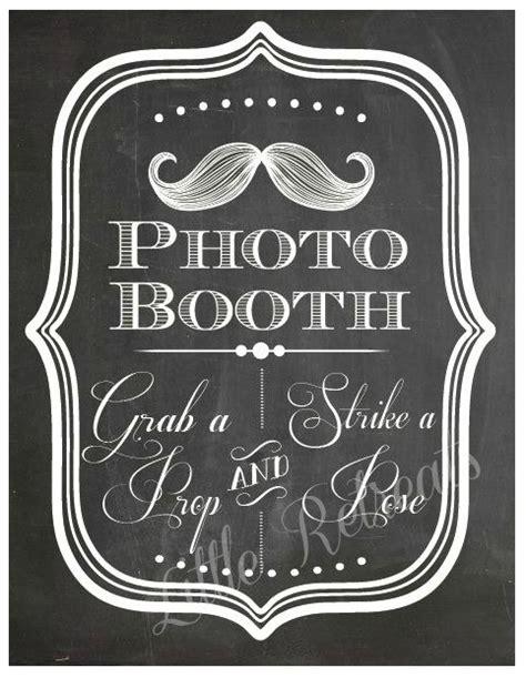 diy chalkboard photo booth prop diy printable pdf photo booth sign photo booth prop