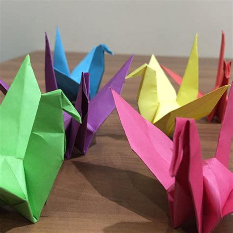 cara membuat origami burung bagau jelaskan cara membuat origami bangau brainly co id