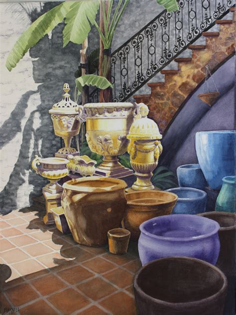 Landscape Pots For Sale Flowers Still Portfolio Margo Blackell Artist