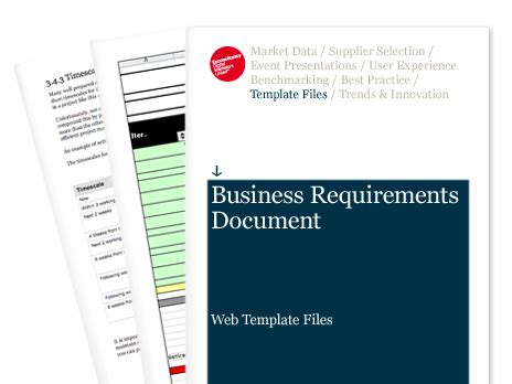Email Marketing Reporting Requirements Template Business Requirements Document Web Template Files