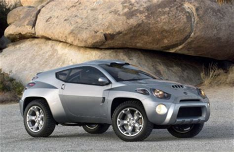 toyota rsc rugged sport coupe concept cars diseno