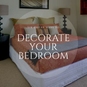 cheap ways to decorate your bedroom 6 cheap ways to decorate your bedroom e koons