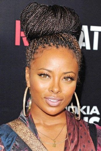 nubian hair long single plaits with shaved hair on sides 1000 images about jumbo braids marley twists on pinterest