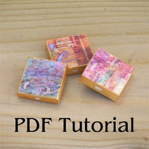 Paper Jewellery Tutorials - chunky square paper bead tutorial pdf by gillianmcmurray