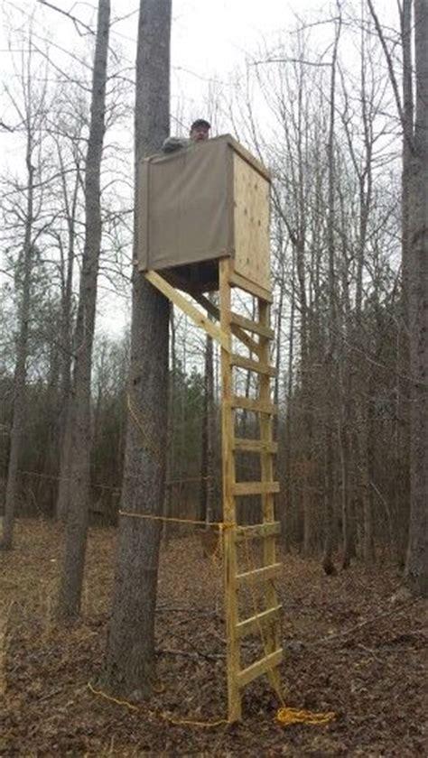 Wood Ladder Deer Stand Plans