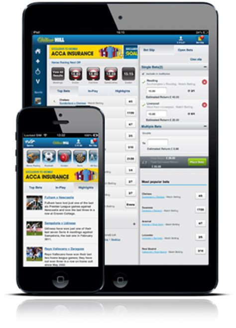 williamhill mobile william hill mobile betting tips and bonuses
