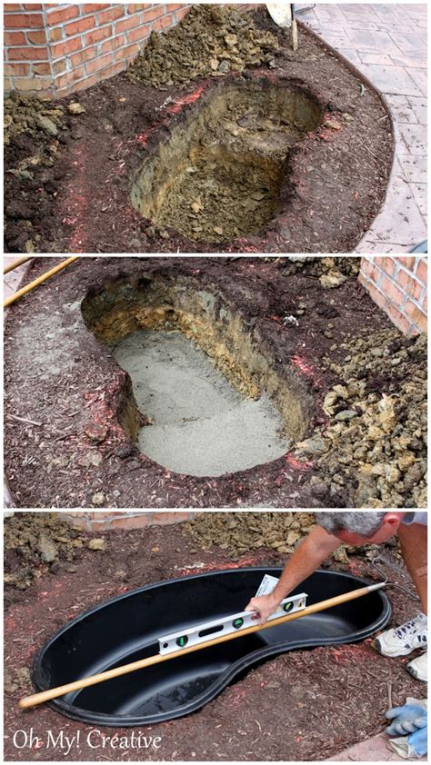 how to make your own garden pond with a waterfall better housekeeper
