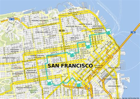 san francisco breweries map a guide to in san francisco