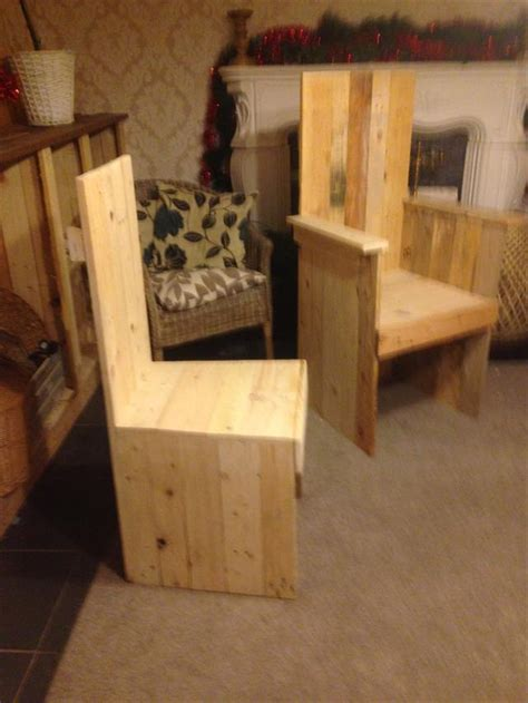 pallet kitchen chair dining chair pallet furniture plans