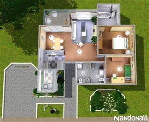 mod the sims medium white house 2bd 3wc