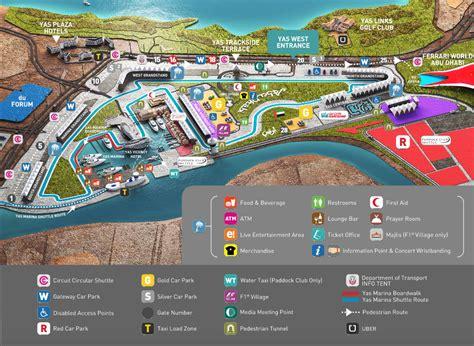 Ferrari World Location Map by Getting There Around Abu Dhabi Grand Prix