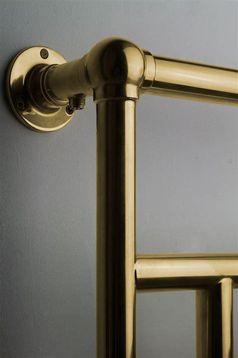 traditional gold towel rails gold plated towel radiators