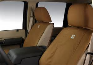 Seat Covers For A Truck Oem Ford F Series Carhartt Custom Fit Seat Covers