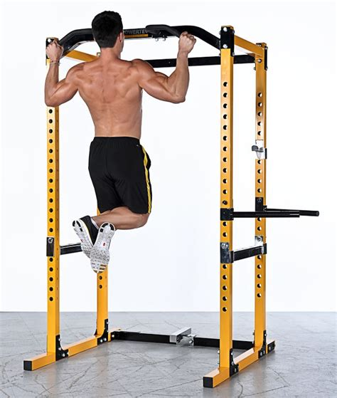 Rack Chin Ups by How To Use And When To Use A Power Rack Healthier Land