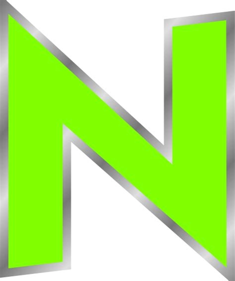 n clipart uppercase n clip at clker vector clip