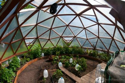 Geodome House by Our Geodesic Dome Greenhouse S New Home Northern Homestead
