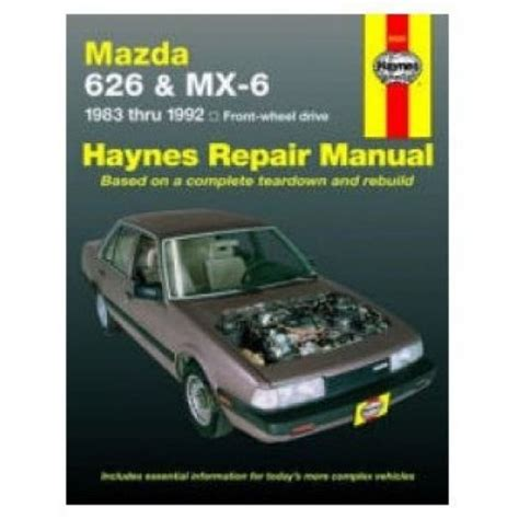 best car repair manuals 1987 mazda 626 navigation system mazda 626 repair manuals mazda 626 auto repair manual mazda 626 shop manuals at 1a auto