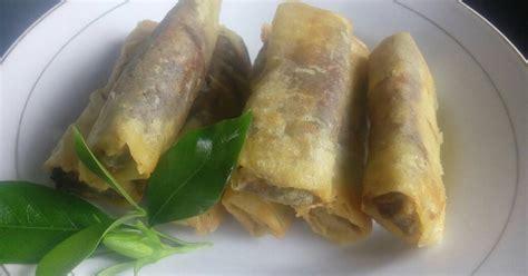 resep lumpia pisang rasa durian enak  sederhana cookpad