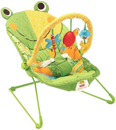 fisher price bouncy seat fisher price baby infant bouncer seat chair in frog green