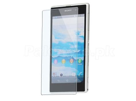 Sony Z1 Screen Protector Tempered Glass sony xperia z1 tempered glass screen protector price in pakistan m002340 check prices specs