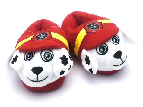 paw patrol slippers boys official paw patrol 3d slippers plush pink