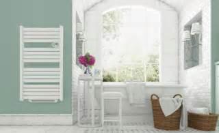 seche serviette ovalu bain chauffage de salle de bains
