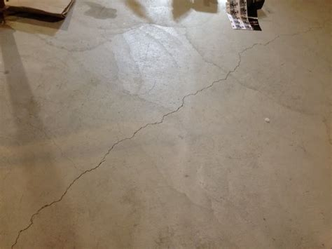 many cracks in basement s concrete floor new house