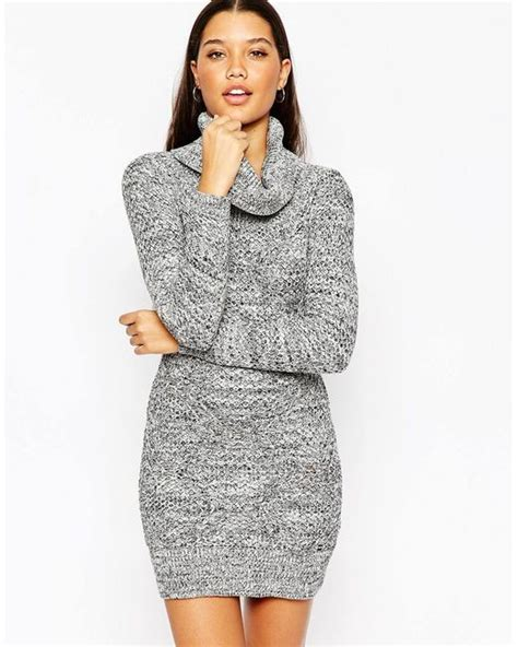 Lipsy Keegan Knitted Roll Neck Bodycon