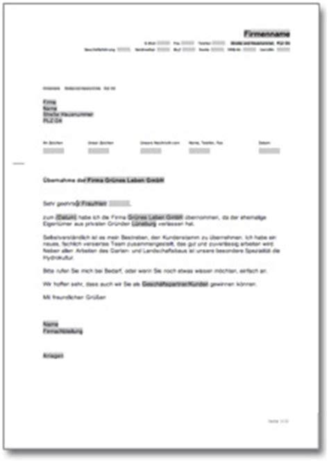 Anschreiben Firma Vorstellen werbebrief f 252 r eine gartenbau firma at musterbrief