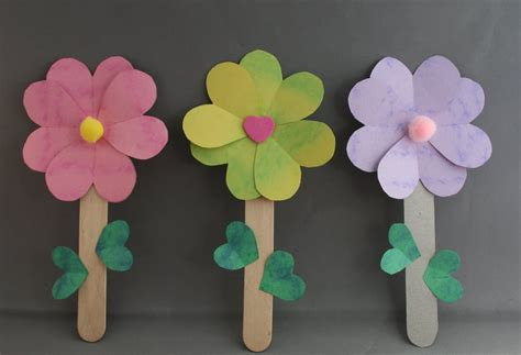 Paper Craft For Flowers - flower craft the idea for this post started with a