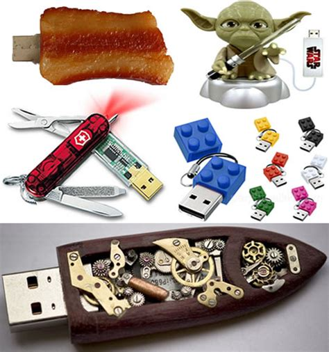 design gadgets geektastic designs 50 usb gadgets funky flash drives
