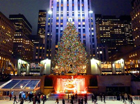 big christmas tree in new york city in nyc what to do during the holidays in nyc travel channel travel channel