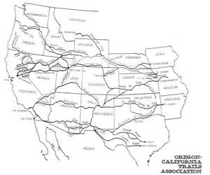map of oregon trail 1850 oregon trail quotes in 1850 quotesgram