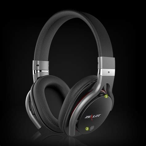 Zealot B5 Wireless Headset Bluetooth Headphone With Tf Mic zealot b5 wireless headset bluetooth headphone with tf mic black jakartanotebook